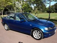 BMW 325i (2.5) SE - AUTOMATIC - 4 DOOR - BLUE **ONLY 44,000 WARRANTED MILES **