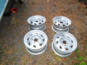 4 - 15 INCH RIMS  TO FIT BLAZER, JIMMY OR S-10 PICKUP-$100