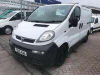VAUXHALL VIVARO VAN EX BT VAN GOOD SPEC TWIN SIDE LOADING DOORS RARE !!! SUPE...