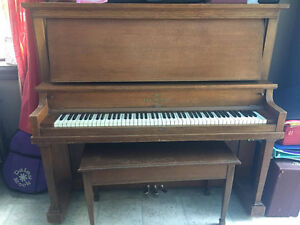 Heintzman & Co Upright Piano