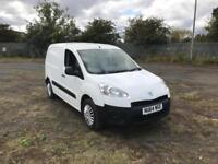 Peugeot Partner L1 850 S 1.6 Hdi 92 Van [Sld] EURO 5 DIESEL MANUAL WHITE (2014)