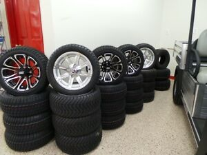 GOLF CART 12INCH LOW PROFILE WHEEL AND TIRE PACKAGE Belleville Belleville Area image 2