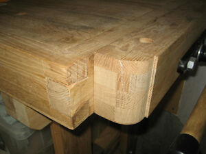 Woodworker's Bench - Solid Maple w/tail and side vises Kitchener / Waterloo Kitchener Area image 9