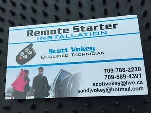 Remote Starter Installation