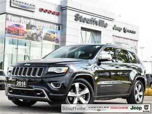 2016 Jeep Grand Cherokee Overland Diesel With Only 38,800 KMS