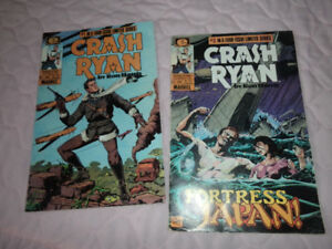 comic book by Marvel , Ryan Crash, Vol 1-#1- excellent cond.