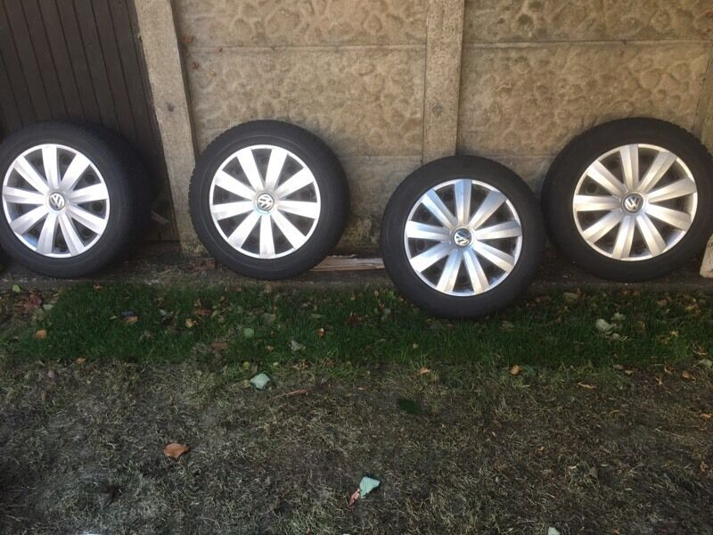 4x Dunlop Winter Tyres and Alloys