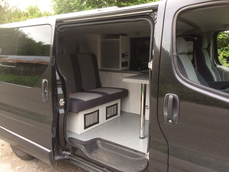 Black windows for homes - Vauxhall Vivaro Sportive Camper Day Van 2010 Brand New Conversion In