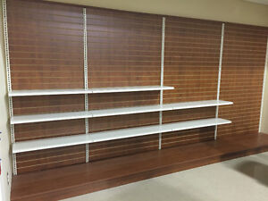COMMERCIAL RETAIL  SHELVING