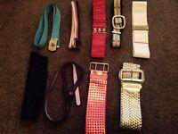Ladies belts, £1 each