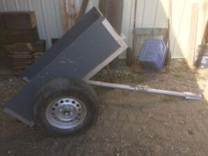 Yard/garden trailer