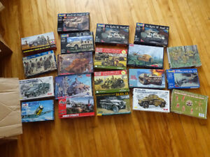 Massive Collection of WWII 1/72 Models and Miniatures