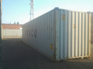 2.....40 ' CONTAINERS ,,,,,,,,1 all metal ...1 fiberglass walls