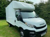 Iveco Daily 35C13 2.3Td 3.5t. 14ft Luton Van 500kg Tail Lift FSH, Nice Condition
