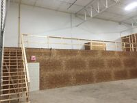 Warehouse w/dock - heat, lights & Security, 28 ft ceiling, mezn