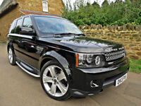 2013 RANGE ROVER SPORT 3.0 SDV6 HSE BLACK EDITION. ONLY 40,000 MILES !!