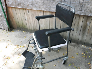 Portable Commode with wheel $200 OBO
