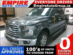 2015 FORD F-150 XLT * 4WD * BACKUP CAMERA * BLUETOOTH * HEATED S