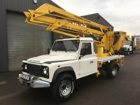 2008 Landrover defender 130 2.4TDCi Gardner Denver Cherry Picker / Access Lift