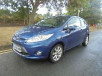Ford Fiesta 1.4 2009/58 Zetec 3 door 91,000 miles long mot alloy wheels aircon