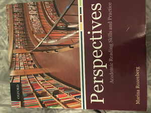 Perspectives academic reading skills and practice