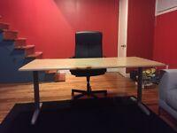 Office ikea table / table bureau ikea