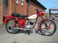 BSA Bantam D3 1956 125cc yes learner legal as down as 125cc