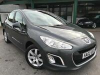 Peugeot 308 1.6HDi 92bhp 2012 Active Grey Manual