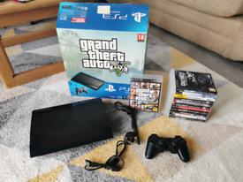 PS3 Super Slim 500GB Bundle, excellent condition