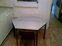 Easy Clean Children's Desks with Chairs