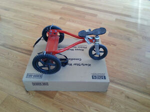 Rare Vinatage MangChild Child Hand Pulley Stand-Up Tricycle Bike