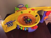 Fisher price spinning race way