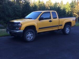 1/4 tun Chevy 4x4 z71 with new plow and back rack