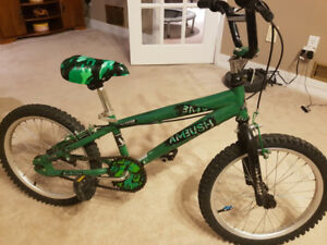 Bmx, in very good condition, 18' for boys 5-8 years old
