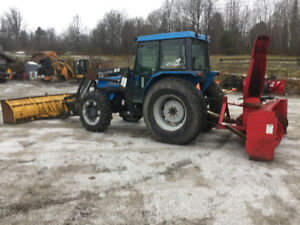 2001 Landini Blizzard 85 with Blower
