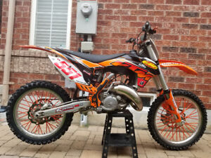 2014 ktm sx125 *MUST SEE*