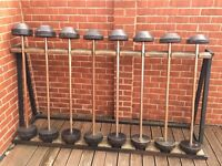 Weight bench and weights £60.