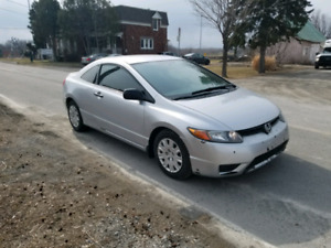 Honda civic 2007  coupe 137 000 km
