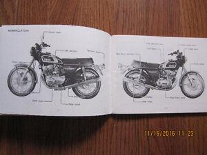 1974 Yamaha XS 500B Owners Manual Sarnia Sarnia Area image 2