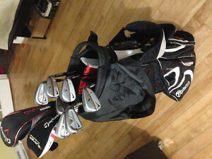 Sac de Golf club/baton - Taylormade/Nike golf set/ensemble
