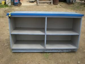 CABNET  WOODEN WITH SHELVES