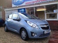 2011 11 Chevrolet Spark 1.0 LS £30 per year road tax