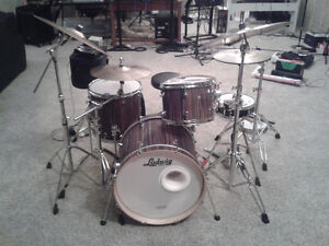 USA Ludwig Maple Shell pack w/bags