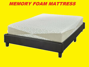 "MEMORY FOAM MATTRESS 10"" THICK WITH ZIPPER COVER $399 ONLY"