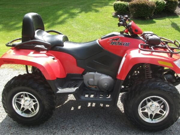 Used 2008 Arctic Cat TRV 400 Automatic 4 W/D 2 Up