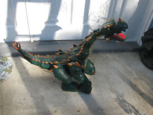 Spike The Ultra Dinosaur T-Rex  Interactive-Fisher Price 3' Long