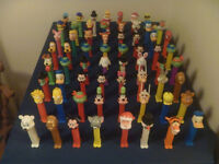 64 Assorted Pez Dispensers Only $1 Each