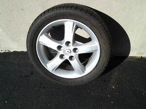 Kumho Tires and Alumn Rims 195 50 16 Like New $400