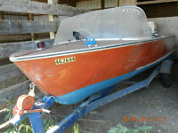 Classic Wood Boat