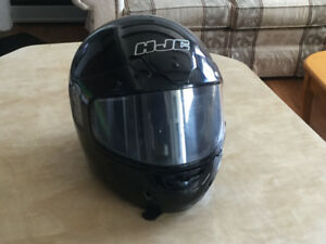 Two ATV helmets
